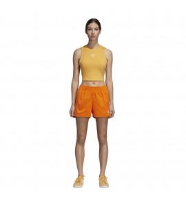 short Adidas Stripes Short naranja