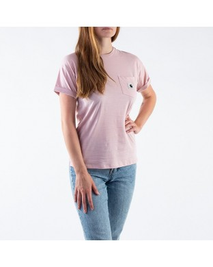 CAMISETA CARHARTT CARRIE POCKET TEE ROSA
