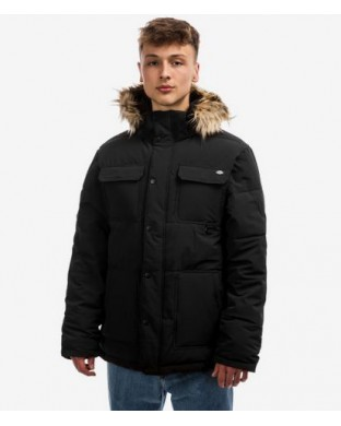 CAZADORA DICKIES MANITOU QUILTED PARKER NEGRA