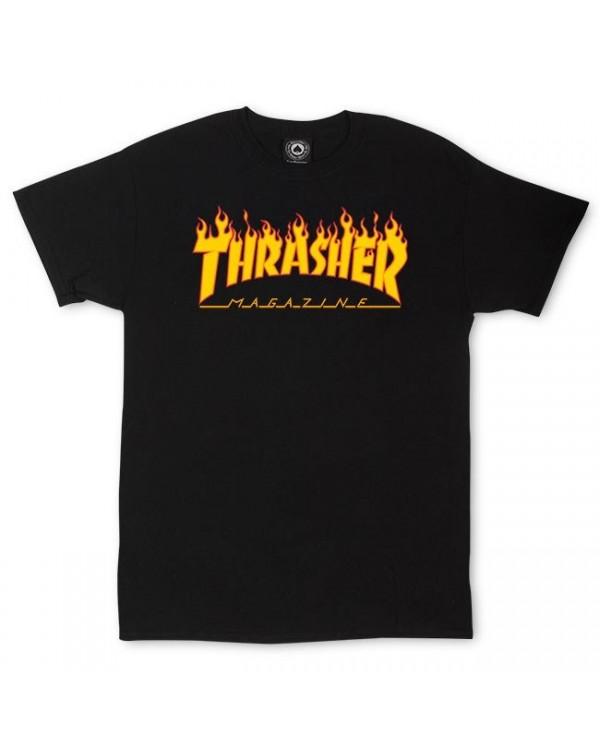 CAMISETA THRASHER LOGO FLAME (UNISEX)