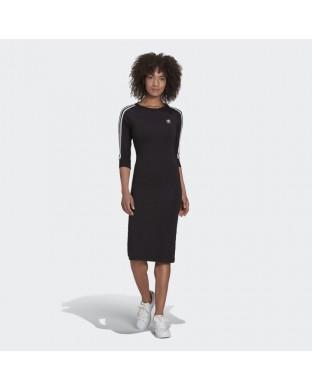 Vestido ADIDAS originals 3 stripes negro